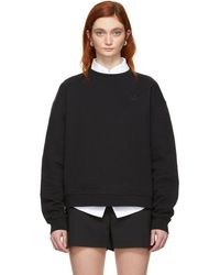 McQ - Black Swallow Badge Slouch Sweatshirt - Lyst