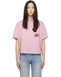 McQ - Pink Psycho Billy T-shirt - Lyst
