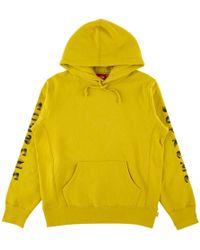 Supreme - Gradient Sleeve Hooded Sweatsh - Lyst