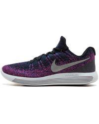 Nike Lunarepic Low Flyknit 2 Shoes - Size 8 - Black