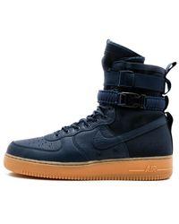 Nike Sf Air Force 1 Sneakers - Blue