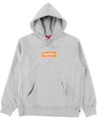 Supreme - Box Logo Hooded Sweatshirt 'fw 17' - Lyst