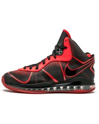 0cf59132df1a Lyst - Nike Lebron 8 V 2 Low in Red for Men