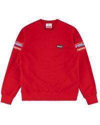 Supreme Honda Fox Racing Sweatshirt - Red