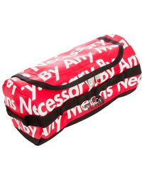 """Supreme Tnf Base Camp Travel Canister """"by Any Means Necessary"""" - Red"""