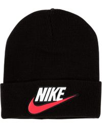 ddcd3cd91363d Supreme Nike Beanie in Red for Men - Lyst