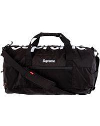 Supreme Duffel Bag 'ss 17' - Black