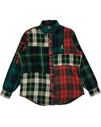 Palace B.d. Shirt Pieced Flannel 'ralph Lauren X ' - Multicolor