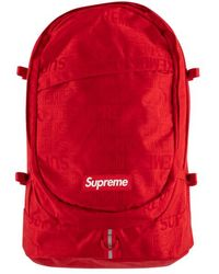 """Supreme Backpack """"ss 18"""" - Red"""
