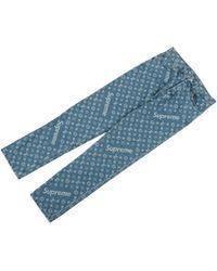 Louis Vuitton - Monogram Regular Jeans - Lyst