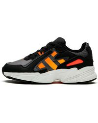 adidas Yung-96 Chasm J Shoes - Size 4 - Black