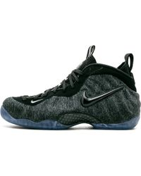 e7ed8abec71 Nike Air Foamposite Pro Qam Leather Trainers in Gray for Men - Lyst