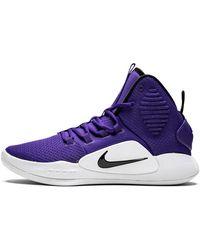 Nike Hyperdunk X Tb Shoes - Size 5 - Purple