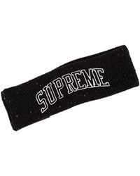 Supreme New Era Sequin Arc Logo Headba Hat 'fw 18' - Black