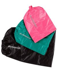 Supreme Nylon Ditty Bags (set Of 3) - Pink