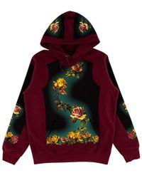 Supreme - Jpg Floral Print Hoodie Sweatshirt 'ss 19' - Lyst
