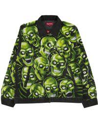 Supreme - Skull Pile Work Jacket - Lyst