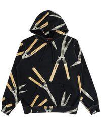 Supreme Shears Hoodie Sweatshirt 'ss 19' - Black