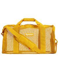 Supreme Big Duffle Bag (ss20) - Metallic