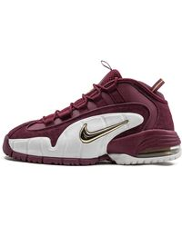 Nike Air Max Penny 1 Shoes - Size 8 - Red