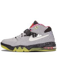 Nike Air Force Max 2013 Prm Qs 'area 72' Shoes - Gray