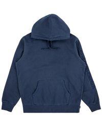 Supreme - Overdyed Hoodie Sweatshirt 'ss 19' - Lyst
