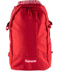 Supreme Backpack 'ss 18' - Red