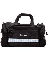 Supreme Hi-vis Duffel Bag - Black