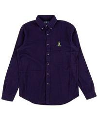 Palace B.d. Shirt Pieced Flannel - Blue