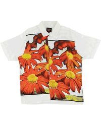 Supreme - Jpg Flower Power Rayon Shirt 'ss 19 Jean Paul Gaultier' - Lyst