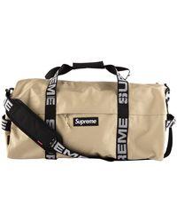 Supreme Duffel Bag 'ss 18' - Black