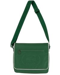 Supreme Lacoste Small Messenger Bag 'fw 19' - Green