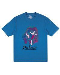 Palace Signature T-shirt - Blue