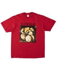 Supreme Still Life T-shirt 'fw 18' - Red
