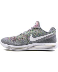 Nike Lunarepic Low Flyknit 2 Shoes - Size 10 - Black