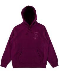 Supreme - Tonal S-logo Hooded Sweatshirt - Lyst