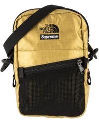 Supreme - Tnf Metallic Shoulder Bag - Lyst