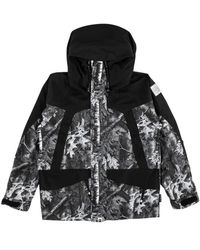 5d71c2a4d A Bathing Ape X Adidas Abc Camo Firebird Shark Puffer Jacket Green ...