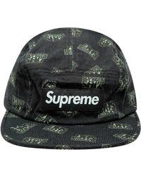 Supreme Sh*t Camp Cap 'ss 17' - Black