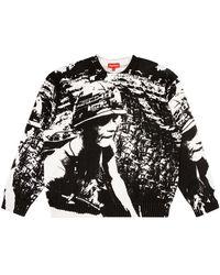 Supreme Is Love Sweater - White