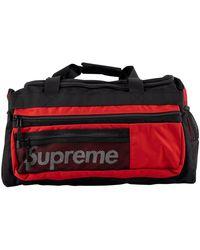 Supreme Logo Duffel Bag 'ss 14' - Red