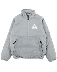 Palace Packable 1/2 Zip Thinsulate Ja - Gray