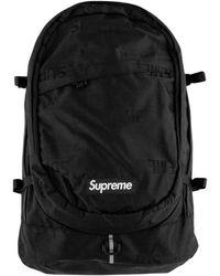 """Supreme Backpack """"ss 19"""" - Black"""