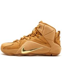 a9bfe5e829ab Lyst - Nike Mens Lebron Xi Ext Suede Qs Blue Suede Game Royal black ...
