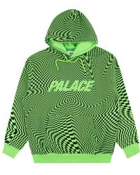 Palace Vertigo Hoodie Sweatshirt - Green