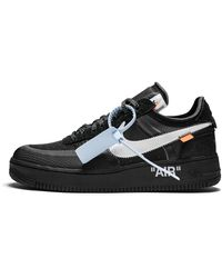 NIKE X OFF-WHITE The 10: Air Force 1 Low Sneakers - Black