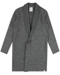 Jason Scott Cardigan Coat - Gray