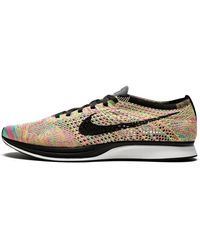 Nike Flyknit Racer Shoes - Size 9 - Gray
