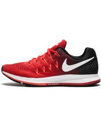 Nike Air Zoom Pegasus 33 – Unvrsty Rd/white/blk/brght Crm, University Red/white/black, 12.5