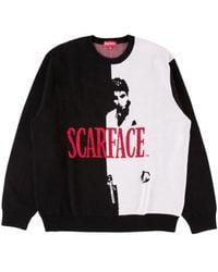 Supreme Scarface Sweater 'fw 17' - Black